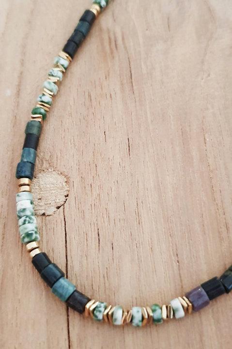 Collier Perles de Pierres Naturelles - Amazonite