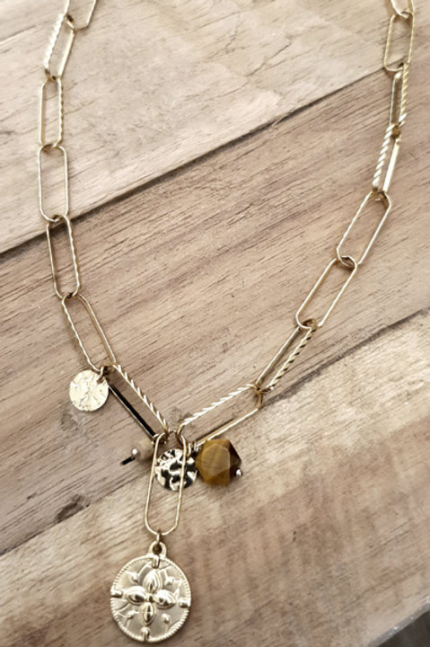 Collier Chainette Pampille Victoria