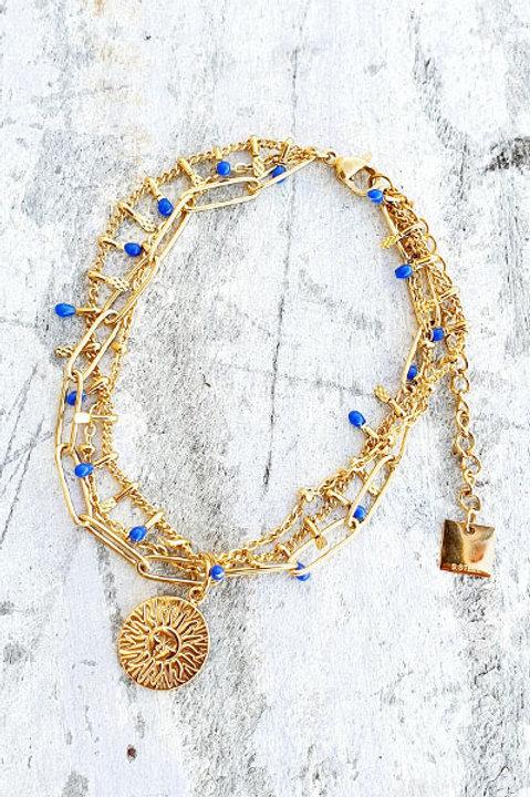 Bracelet Multi - Sun - Blue