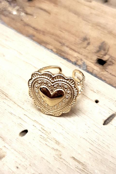 Bague Heart - Gold