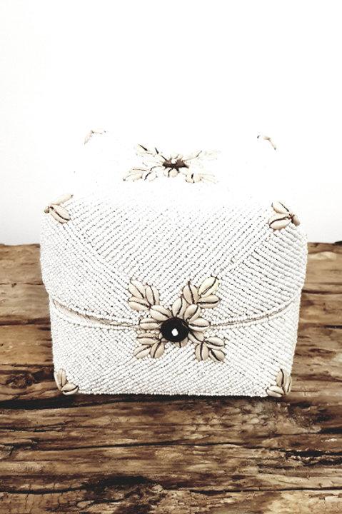 Boite Perles et Coquillages Flower - M