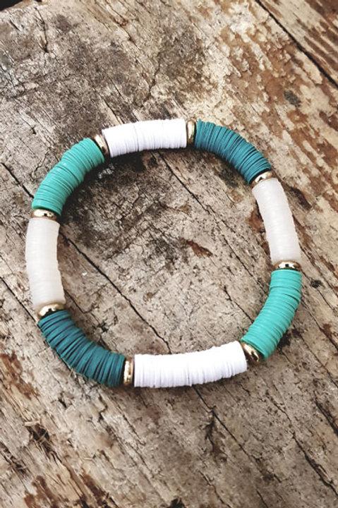 Bracelet Massai Turquoise