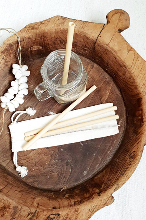 Set Paille Bambou