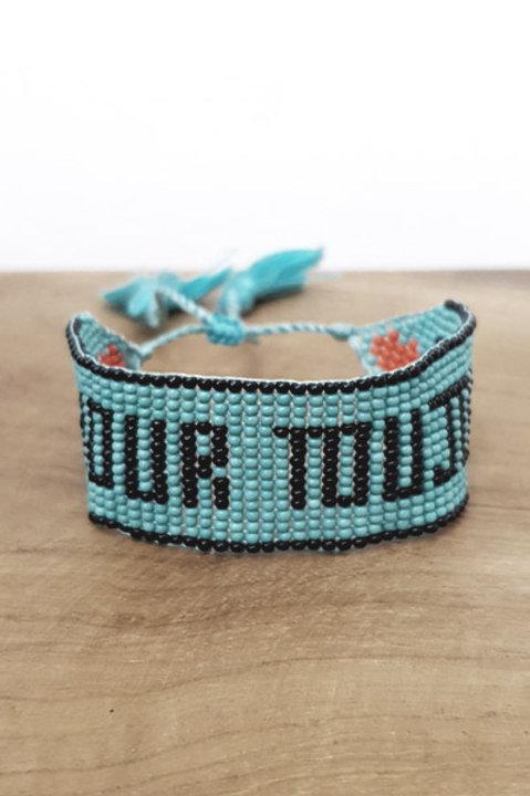 Bracelet Perles - Amour Toujours