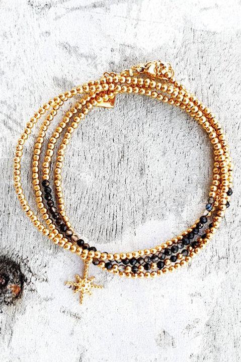 Bracelet Multi Tour - Onyx - N.1