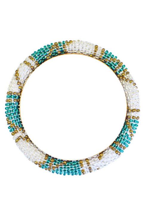 Bracelet Perles de Verre du Nepal - 52