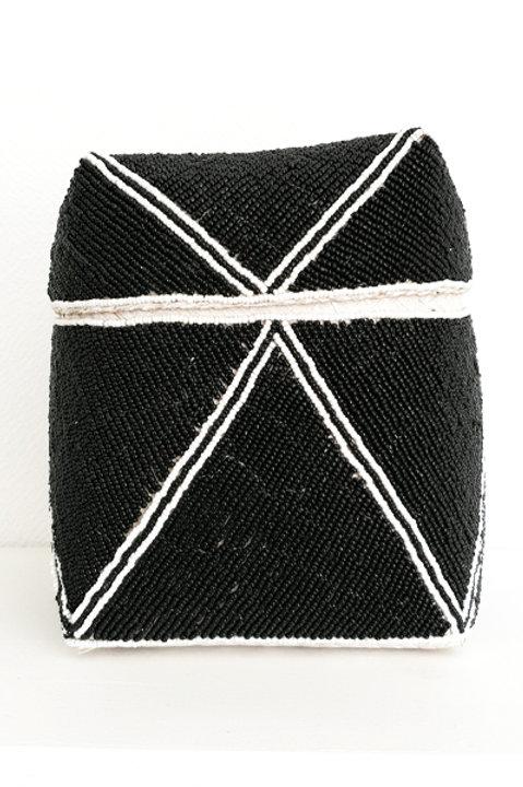 Boite Perles - Black White - L