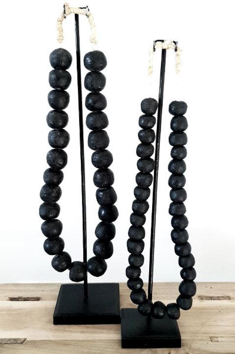 Collier Perles de Verre Ghana - GM