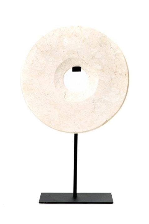 Disque Marbre - Blanc - GM