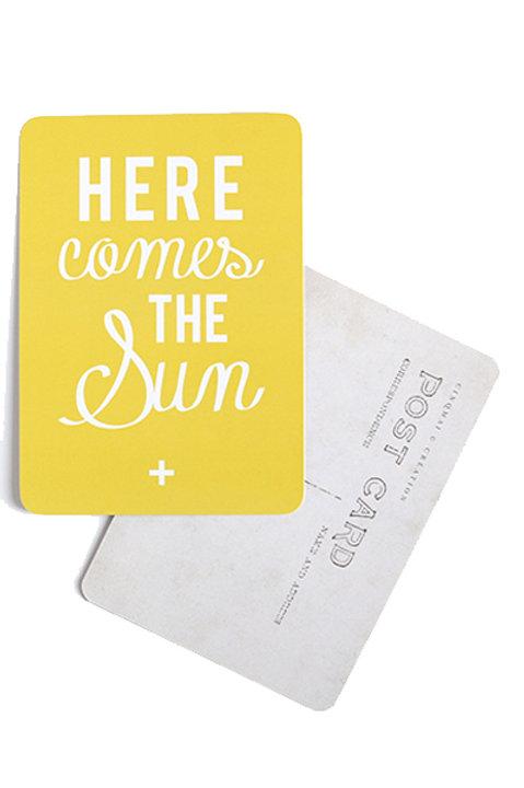 Carte Postale - SUN