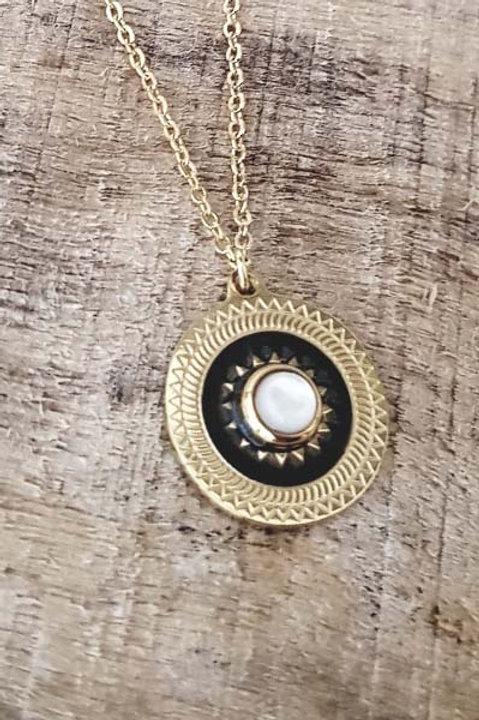 Collier Médaille Vintage