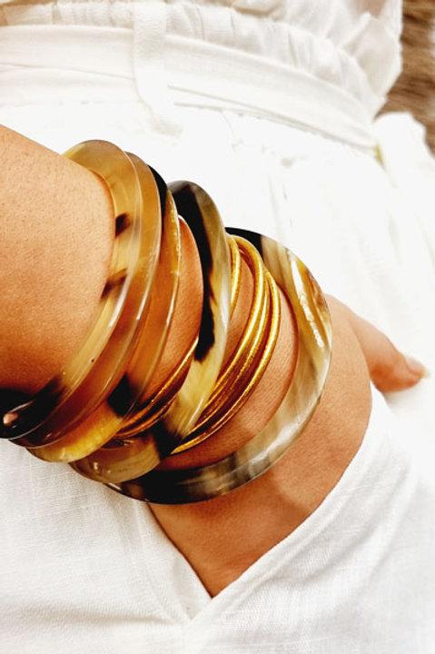 Set Bracelet Corne