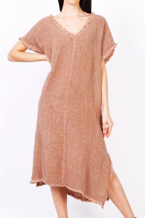 Robe Formentera Lin Coton - Terracota