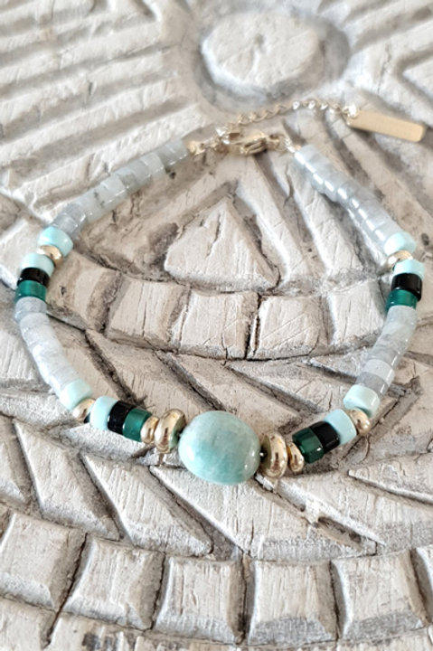 Bracelet Perles de Verre - N3