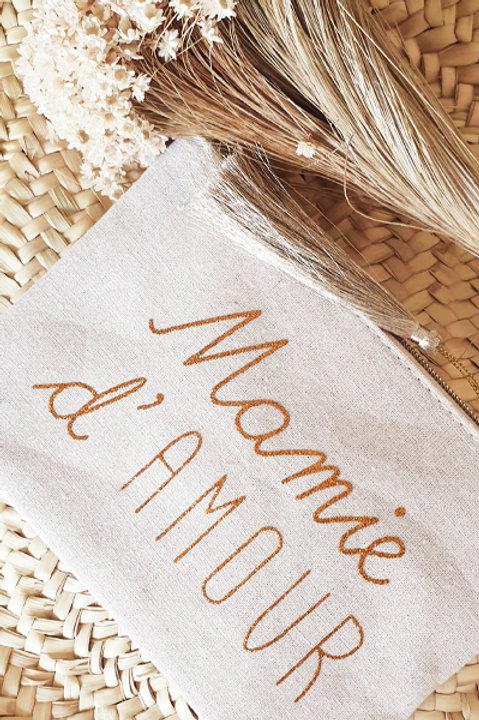 Grande Pochette Mamie d'Amour - Gold