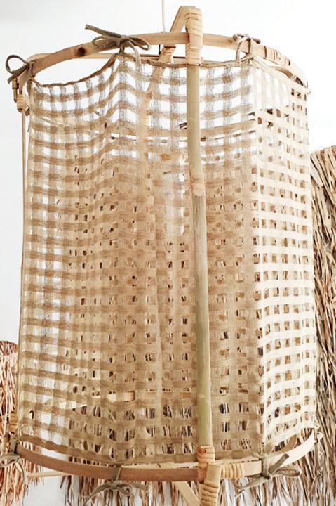 Lanterne Bambou - Jute - M