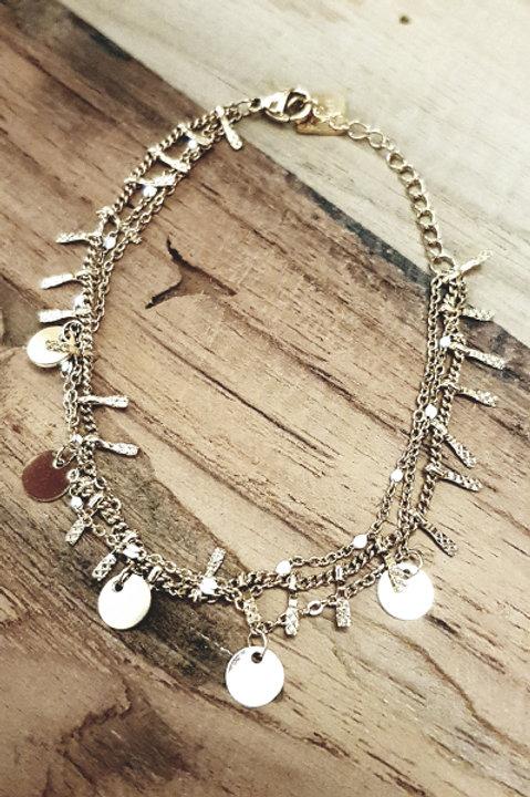 Bracelet Multi Piece Gold