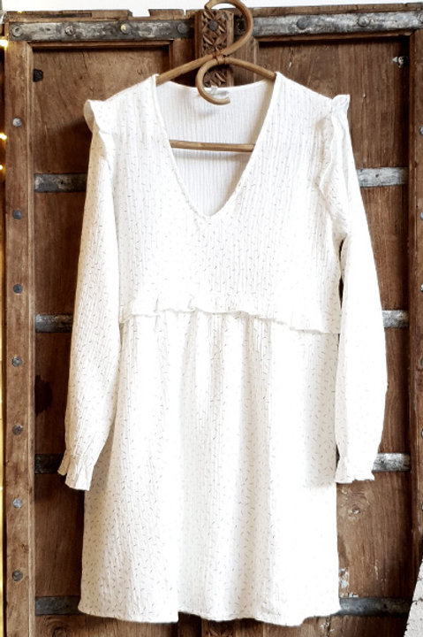 Robe Preppy Gold White