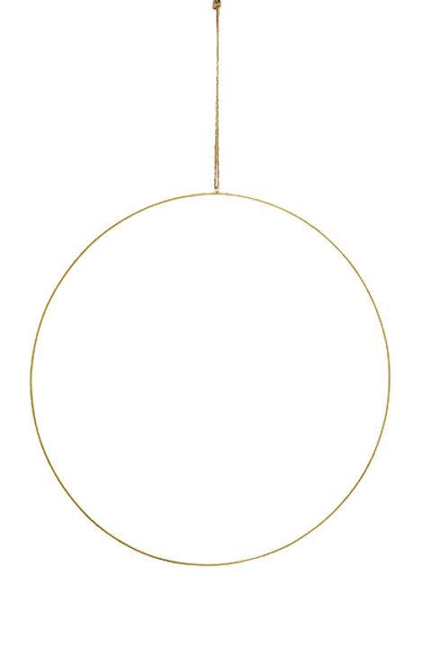 Suspension Cercle Métal - 60cm