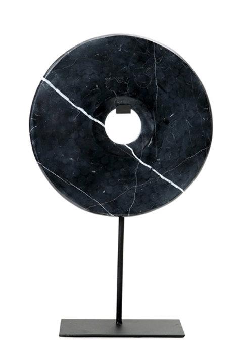 Disque Marbre - Noir - GM