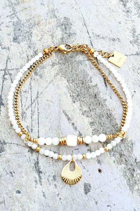 Bracelet - Agathe Blanche - N.4