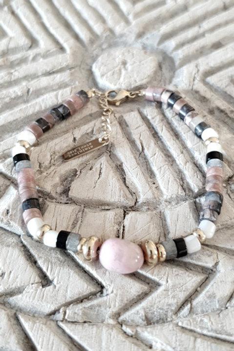 Bracelet Perles de Verre - N6