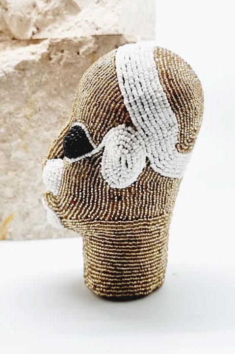 Tête Perlée - Petit Modèle - Gold