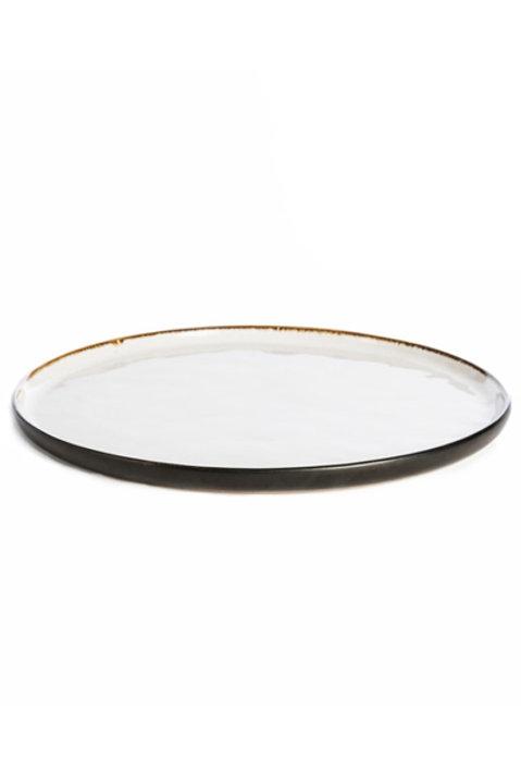 Assiette Céramique Noir Mat