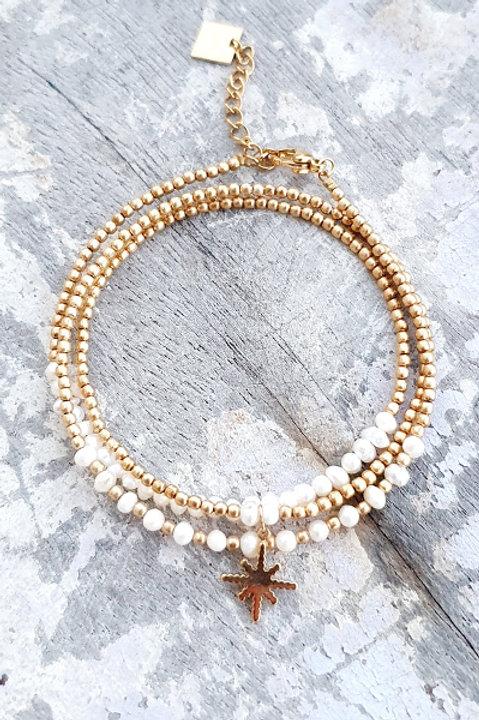 Bracelet Multi Tour - Perles de Culture - N.6