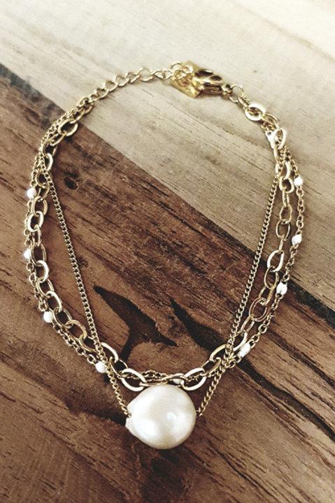 Bracelet Multi Pearly Nacre