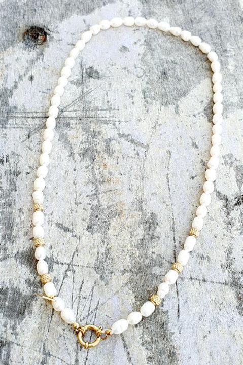 Collier - Ras de Cou - Chainette - Perles