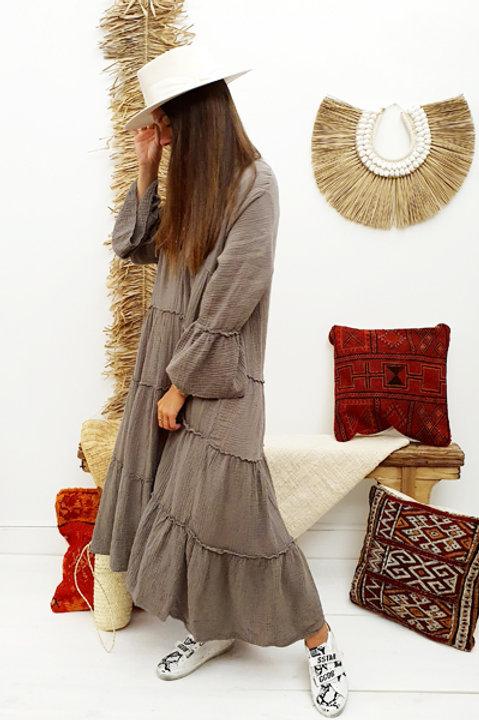 Longue Robe - Gaze de Coton