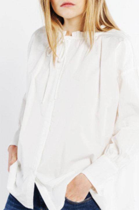 Chemise Oversize - Blanc