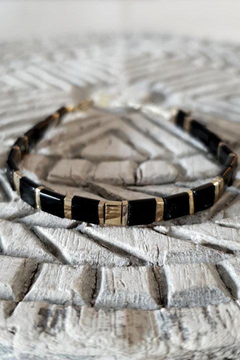 Bracelet Perles de Verre Japonaises - N7