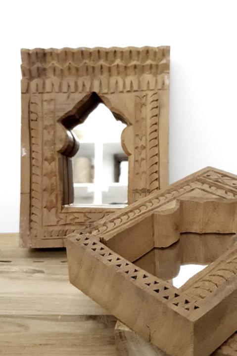 Miroir Bois Sculpté - N.2