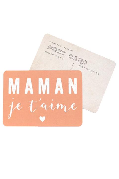 Carte Postale - MAMAN