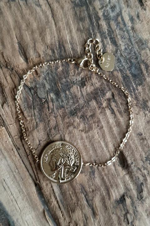 Bracelet St Louis Gold