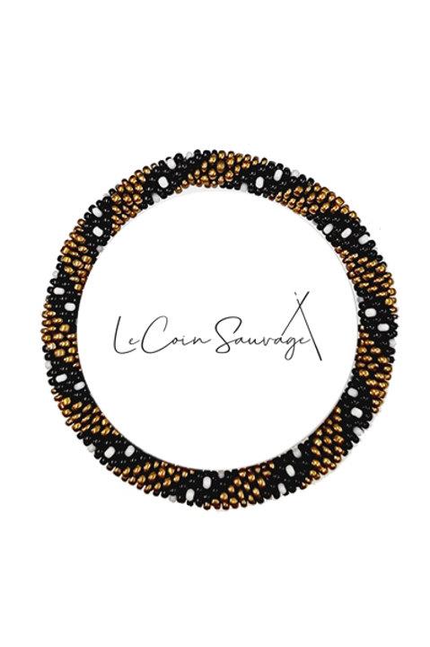 Bracelet Perles de Verre du Nepal - 025