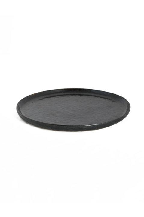 Assiette Dessert Céramique Noire