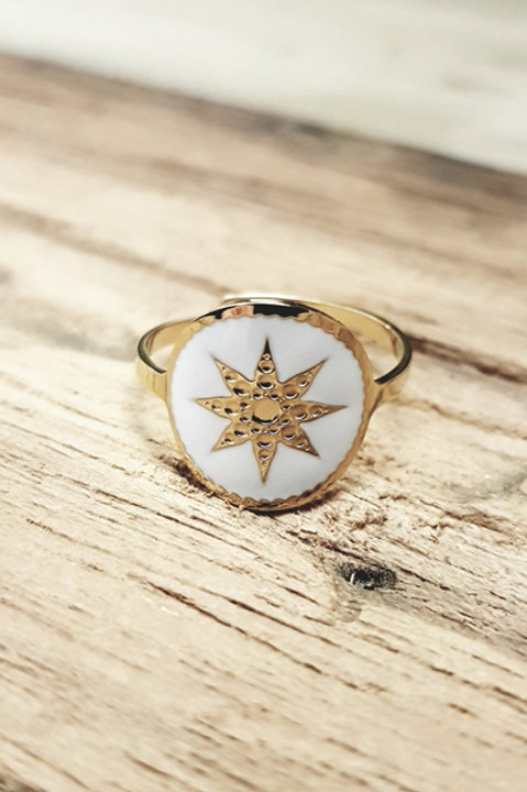Bague Constellation White