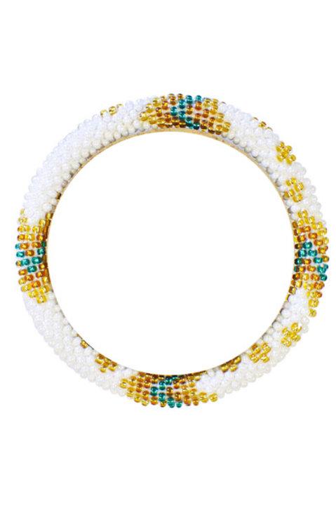Bracelet Perles de Verre du Nepal - 097