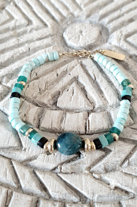Bracelet Perles de Verre - N5