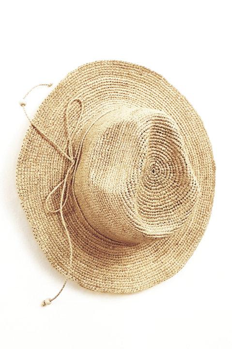 Chapeau Tressé - Madagascar