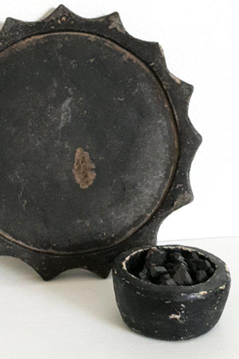 Pot en Pierre à Savon Noir