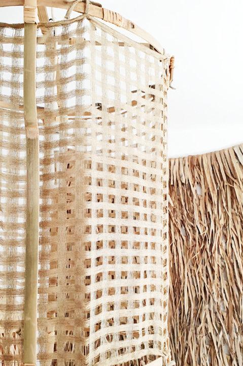 Lanterne Bambou - Jute - L