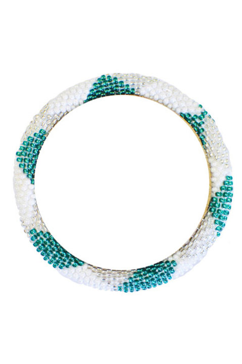 Bracelet Perles de Verre du Nepal - 51