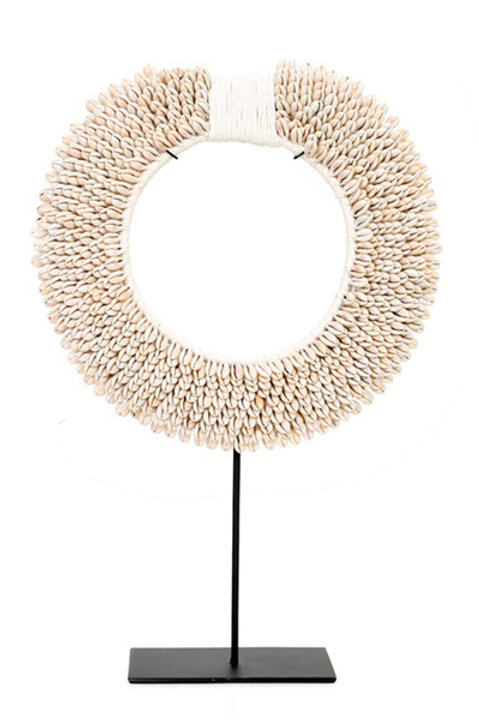 Collier Papou - Naturel - GM