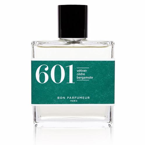 Eau de Parfum : 601 - Vétiver / Cèdre / Bergamote