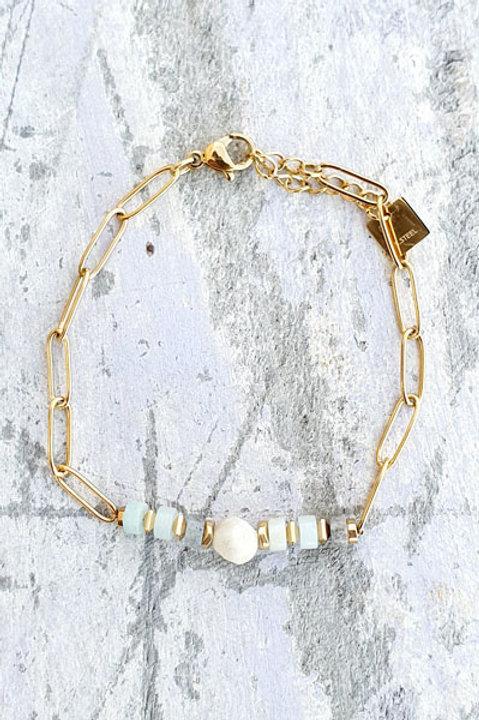Bracelet Aigue Marine - N.4