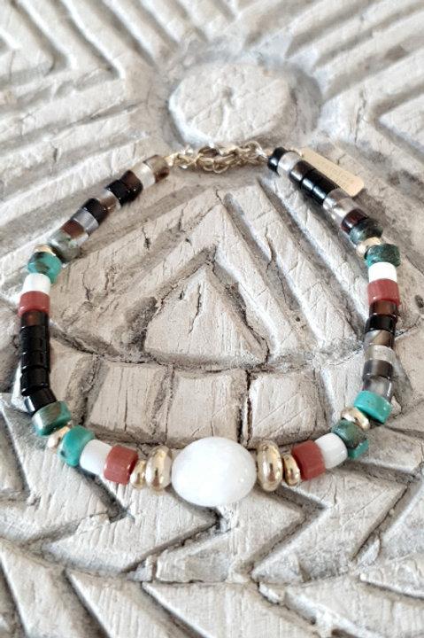 Bracelet Perles de Verre - N1